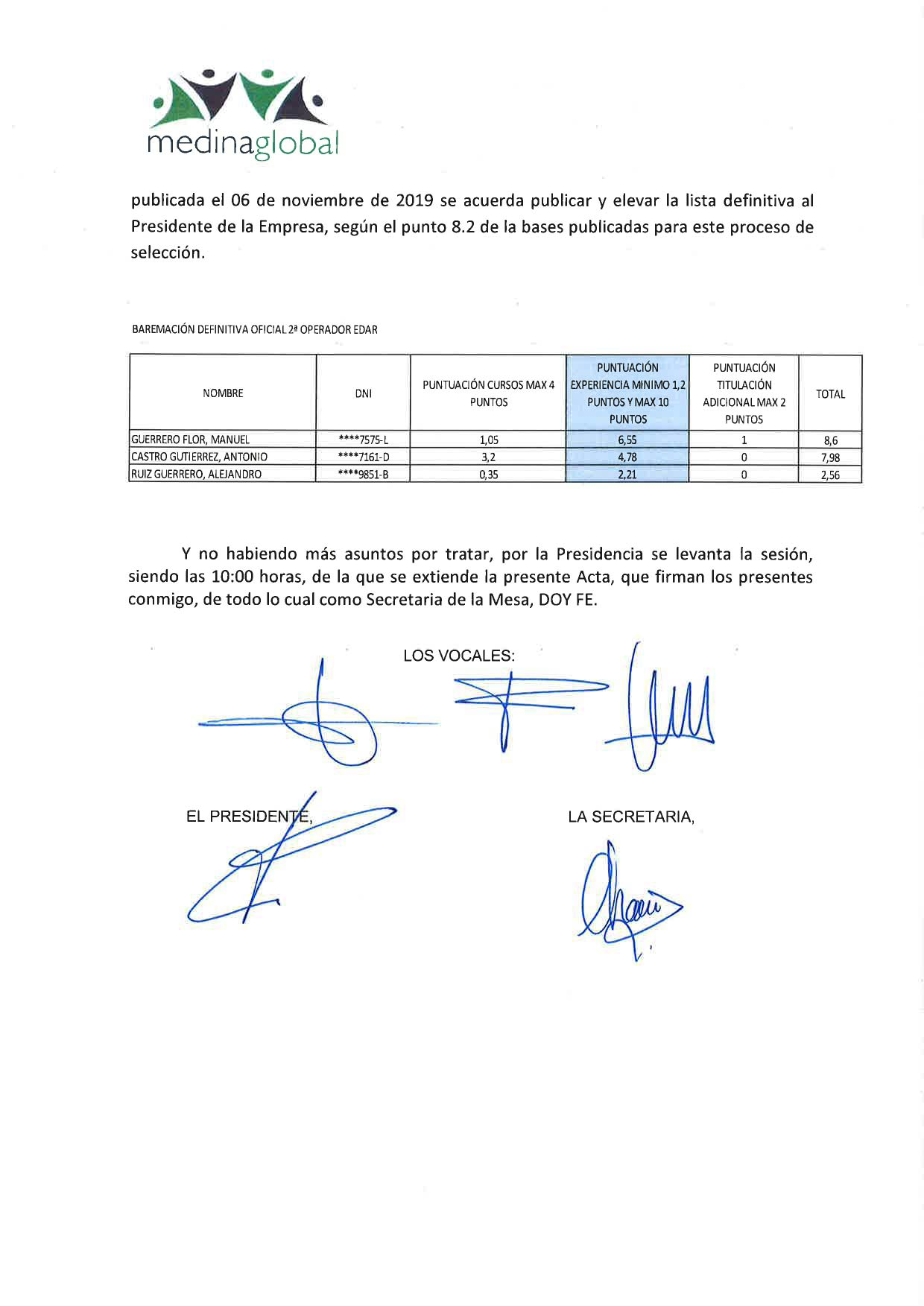 ACTA 3ª MESA DE VALORACION PUNTUACION DEFINITICA OFICIAL 2º OPERDADOR EDAR-2